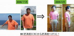 耳つぼダイエット-約半年で26kg減を達成したkさん-【川口市の整体院・リフレッシュハウスIUG】